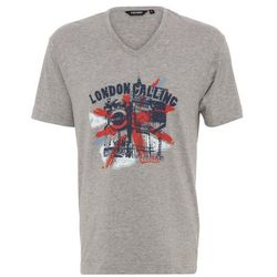 Ceceba LONDON CALLING Koszulka do spania light grey melange