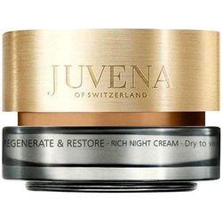JUVENA Skin Regenerate Restore Night Cream krem na noc do skory normalnej i suchej 50ml