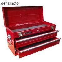 Skrzynka narzędziowa, 2 szuflady, RED