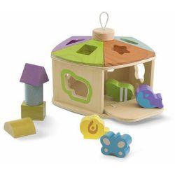 Drewniany domek zwierząt
