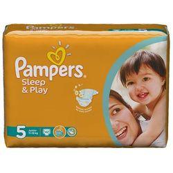PAMPERS Sleep&Play pieluchy 5 Junior 42szt pieluszki