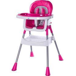 Krzesełko do karmienia CARETERO Pop różowy