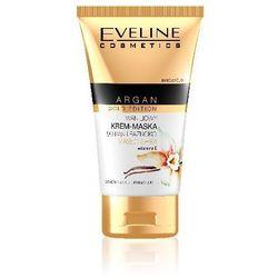 Eveline Argan Gold Edition Krem-maska do rąk i paznokci waniliowy 50ml