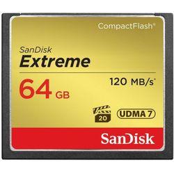 Karta pamięci SanDisk Compact Flash Extreme 64GB (CF) 120MB/s 800x