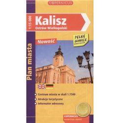 Kalisz, Ostrów Wielkopolski. Plan miasta 1:15000 (opr. broszurowa)