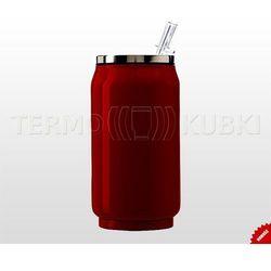 Kubek termiczny, bidon 330ml PUSZKA (czerwony)