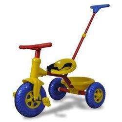 vidaXL Rowerek dziecięcy, trójkołowy, czerwono-niebiesko-żółty. Darmowa wysyłka i zwroty