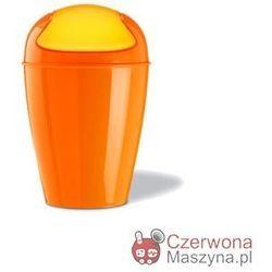 Kosz na śmieci Koziol Del 2 l, pomarańczowy