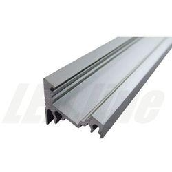 PROFIL aluminiowy narożny 60 stopni do TAŚMY LED 2 metry