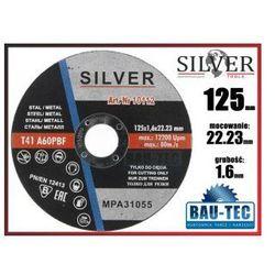 Tarcza do cięcia metalu 125x1.6x22.23 SILVER