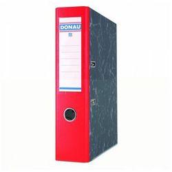 Segregator DONAU Marble ekologiczny A4/75mm czerwony
