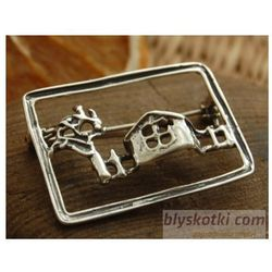 PEJZAŻ - srebrna broszka srebrna brosza
