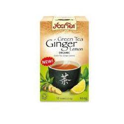 Herbata YOGI TEA Zielona imbirowo-cytrynowa GINGER LEMON - ekspresowa