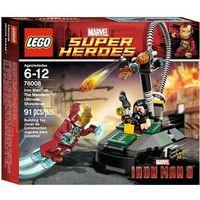 Lego SUPER HEROES Ironman vs mandarin 76008 wyprzedaż