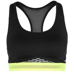 Nike Performance PRO FIERCE Biustonosz sportowy black/volt/white