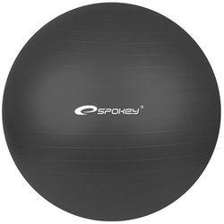 Piłka gimnastyczna FITBALL śr.65 cm + pompka Spokey (czarna)