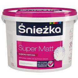 Farba Super mat 10l Śnieżka