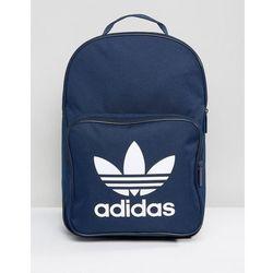kupić Data wydania: najlepszy wybór adidas Originals Trefoil Backpack In Collegiate Navy With Front Pocket  BK6724 - Navy