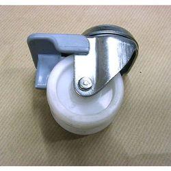 Kółko 2x50 mm na otwór + hamulec [1-0391]