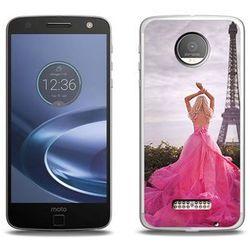Foto Case - Lenovo Moto Z Force - etui na telefon Foto Case - różowa sukienka