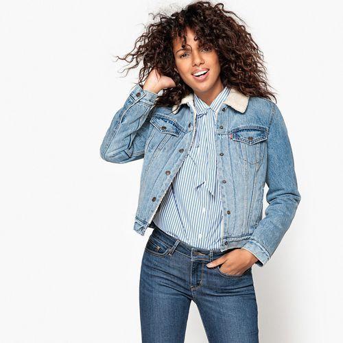 Levi's® ORIGINAL SHERPA TRUCKER Kurtka jeansowa extremely