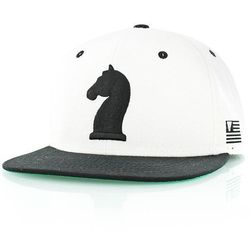 czapka z daszkiem K1X - Knight White/Black (1000) rozmiar: OS
