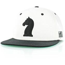 czapka z daszkiem K1X - Knight White/Black (1000)