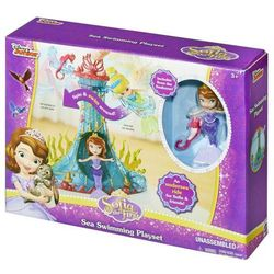 Lalka MATTEL Disney Princess Zosia Podmorska karuzela + Sven