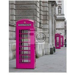 Plakat Budki telefoniczne w Londynie