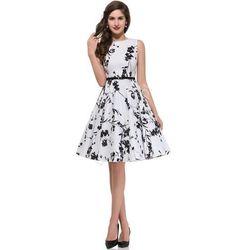Kwiatowa sukienka| sukienki w stylu pin-up, retro sukienki