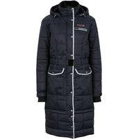 Płaszcz funkcyjny outdoorowy, termoaktywny, z możliwością skrócenia długości bonprix czarny