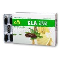 CLA z zielona herbata 100 kaps. /GAL