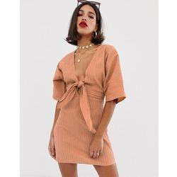 19c1e23de3 suknie sukienki sukienka do pracy s14 (od ASOS DESIGN Petite bardot ...