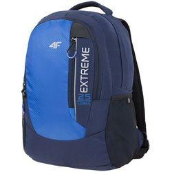 4F Plecak miejski PCU009 niebieski ciemny (C416)