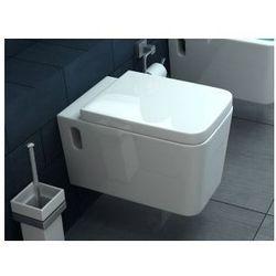 CUBIK Miska WC wisząca + deska wolnoopadająca