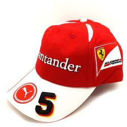 Czapka Vettel Replica Scuderia Ferrari F1 Team 2016