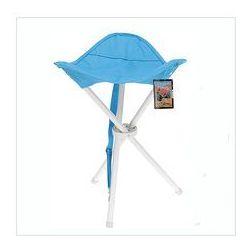 Składane krzesełko turystyczne, niebieskie