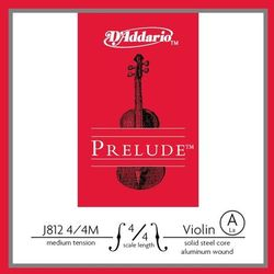 D'addario Prelude J812-44M struna pojedyncza A do skrzypiec 4/4