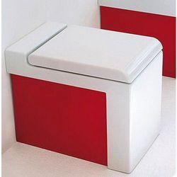 Art Ceram La Fontana miska wc stojąca biało czerwona LFV00501;51