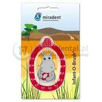 MIRADENT Infant-O-Brush - szczoteczka z gryzakiem dla niemowląt i dzieci do 3 roku życia