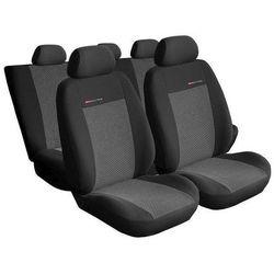 Pokrowce samochodowe miarowe ELEGANCE POPIEL 2 Ford Transit Custom 2+1 od 2012 r.