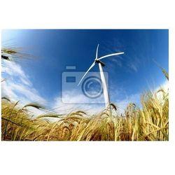 Obraz Turbina wiatrowa - odnawialne źródło energii