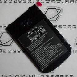 Obudowa Blackberry 9900 Bold tylna / pokrywa baterii czarna