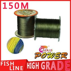 150M Power Brand Extreme Strong Braid Fishing Line PE Multifilament 10LB 20LB 25LB 30LB 40LB 50LB 60LB 80LB 100LB