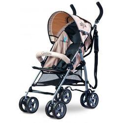 Caretero Alfa wózek spacerowy 5,3 kg beige nowość