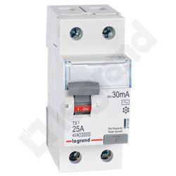 Legrand Wyłącznik różnicowoprądowy P302 25A 30mA AC 008909
