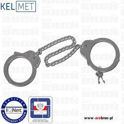 Kajdanki na nogi szczękowe KEL-MET - stal nierdzewna, norma PN-EN 10088-1, szerokość 72-106mm