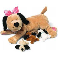 Manhattan Toy, karmiąca mama z pieskami, maskotka Darmowa dostawa do sklepów SMYK