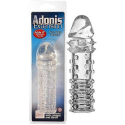Żelowa nakładka na penisa z wypustkami Adonis Extension 2162525