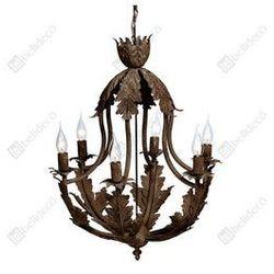 Stylowa Lampa sufitowa liście Belldeco Rustic